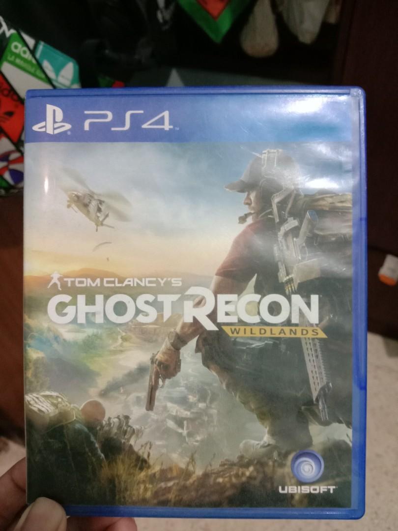 Kaset PS4 Ghost Recon Wildland