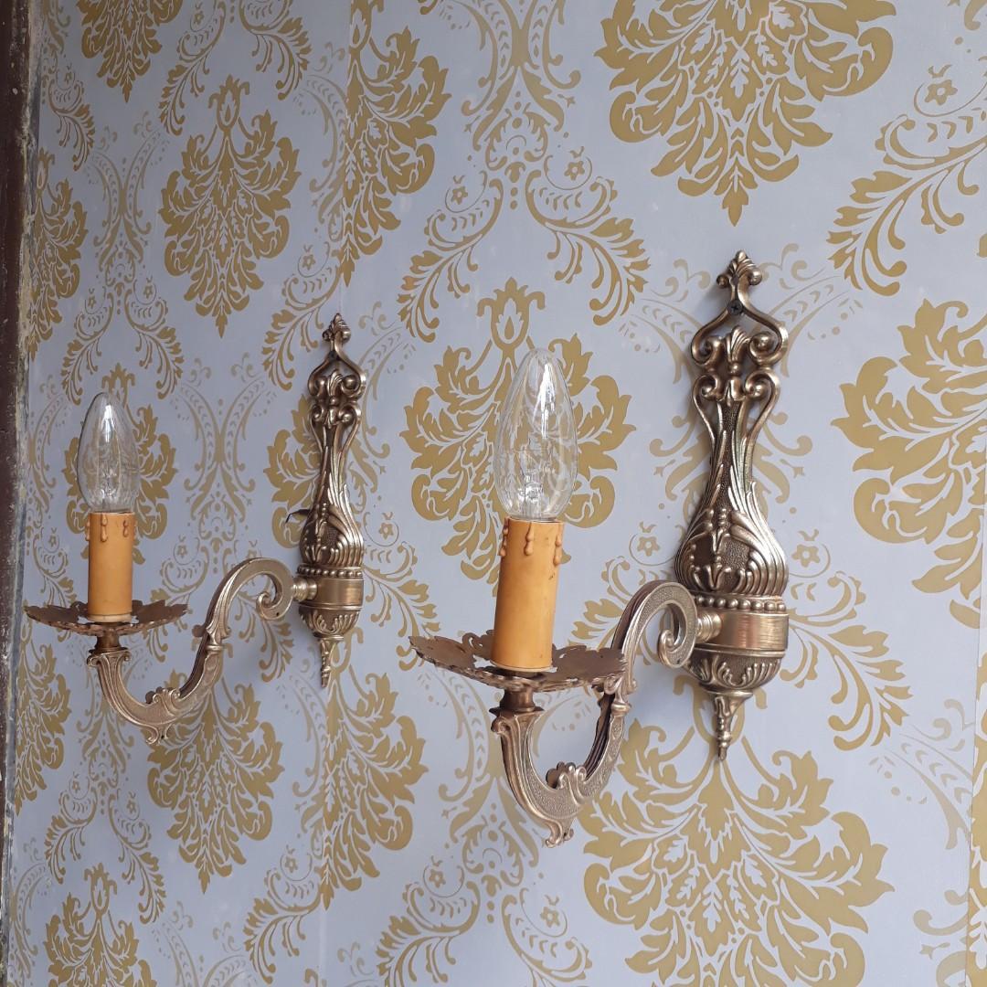 Lampu italy kuningan