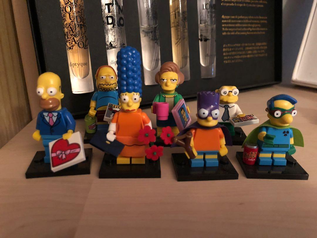 Lego Simpsons Minifigures series 1 & 2