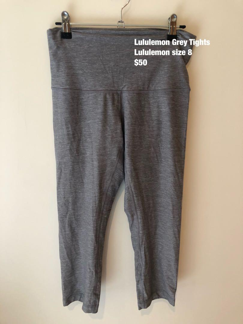 Lululemon Tights - Grey