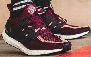 Ultraboost Manchester United Sneakers Carousell Singapore