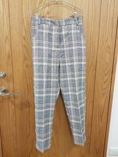 mercci22經典格紋西裝褲s