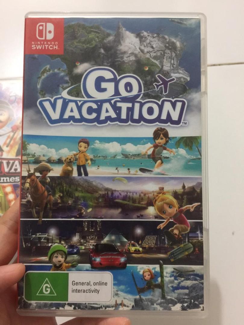 Nintendo Switch Go Vacation #barangnumpuk