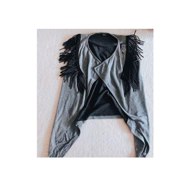 ONLY Rocky Style Cape with shoulder pads