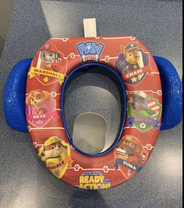 Paw patrol potty seat. Excellent condition barely used