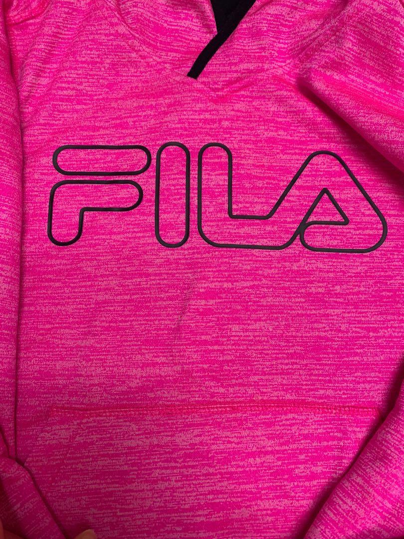 Pink FILA sweater