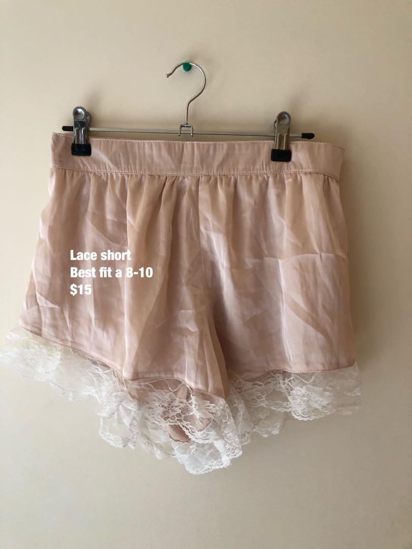 Pink Lace Short