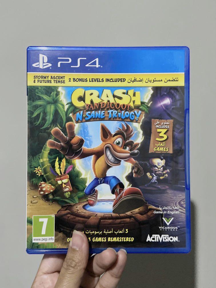 PS4 Crash Bandicoot N-Sane Trilogy (R2) - Original
