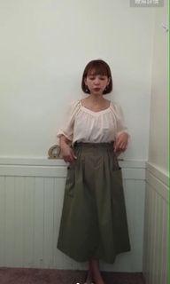 QQBOW 兩穿上衣+口袋裙