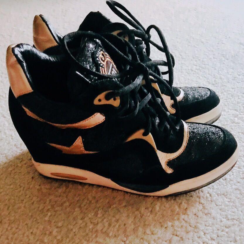 Remix High Heel Sneakers
