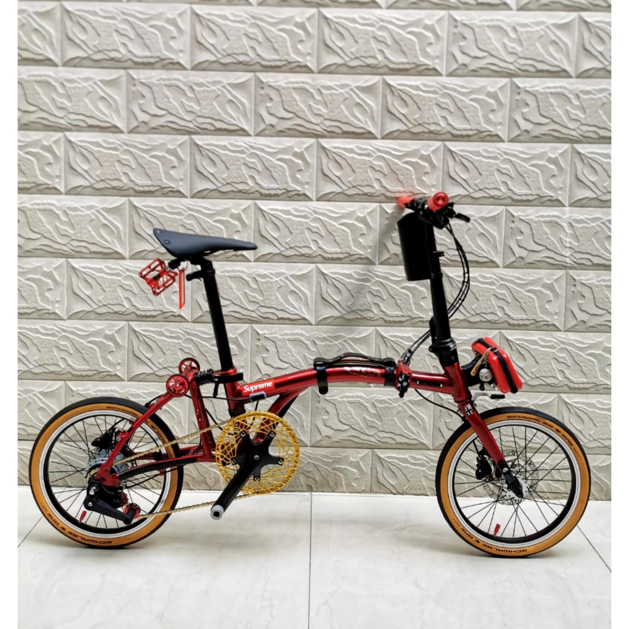 Sepeda Lipat United Trifold 8D (bukan Brompton)