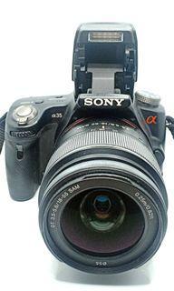 Sony SLT-A35 Professional DSLR Photography Camera