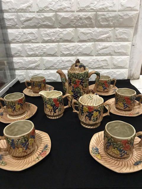 Tea set keramik Sanyo Japan