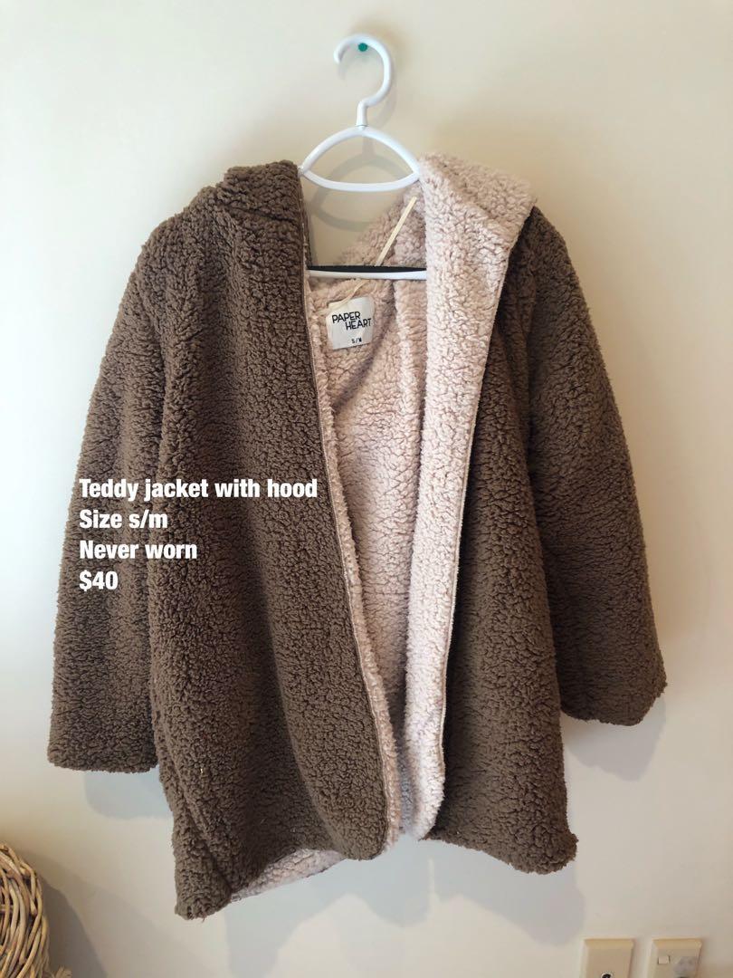 Teddy jacket - Brown