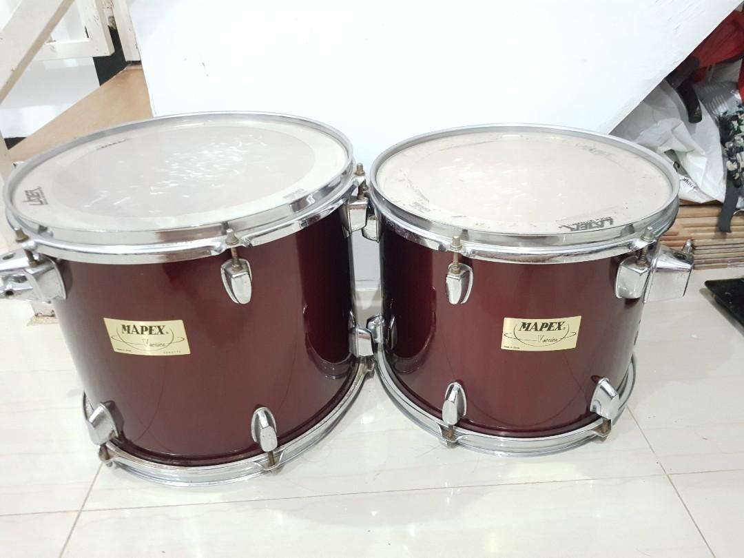 Tom 12 13 inch drum mapex v series