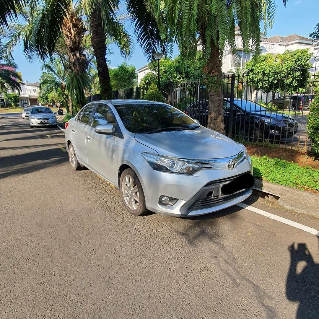 Toyota All New Vios 3rd Gen A/T 2014 Silver