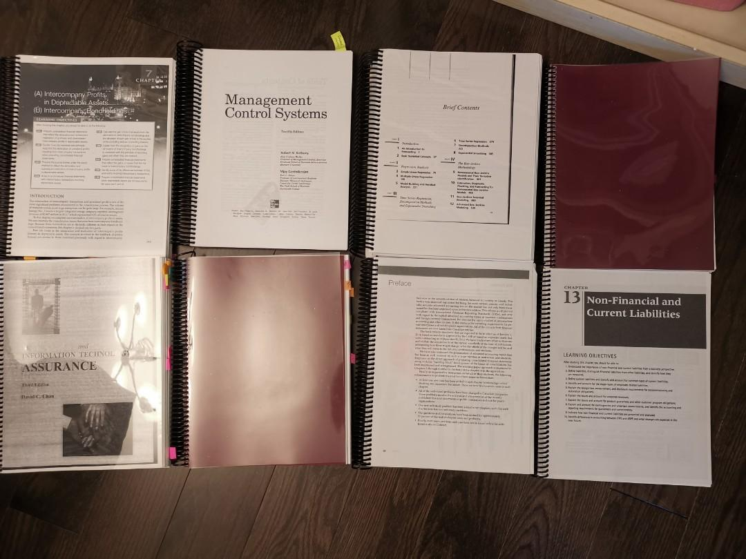 u of t accounting related books - photocopied version