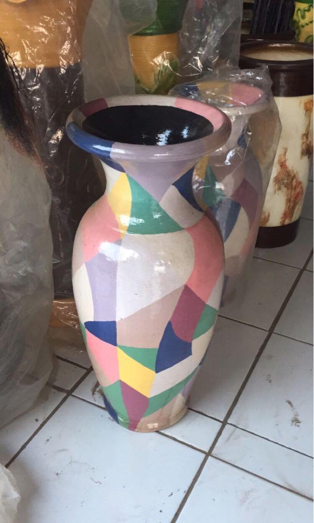 vas bunga uk besar