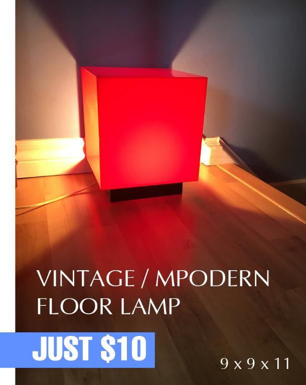 Vintage/Modern Floor Lamp
