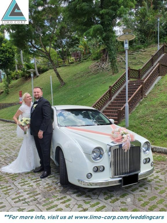 Wedding Cars - Mitsuoka Galue / BMW 7 Series