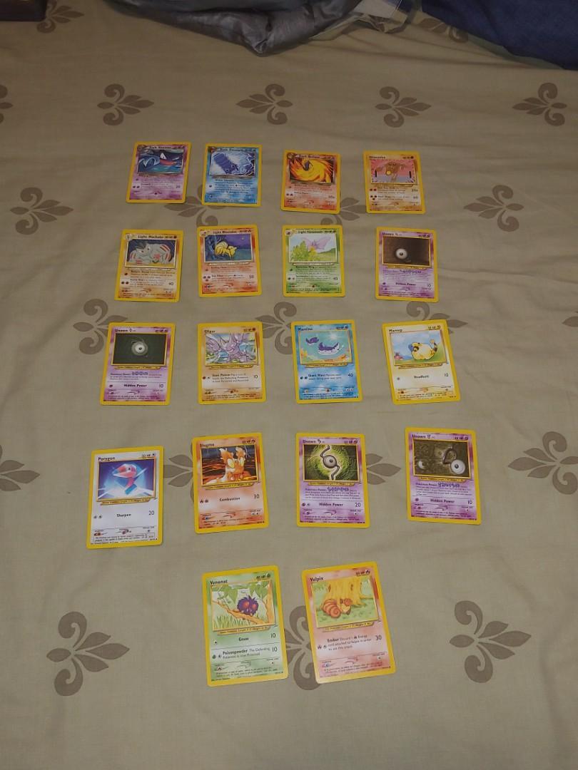 18 Pokemon Neo Destiny Set Cards