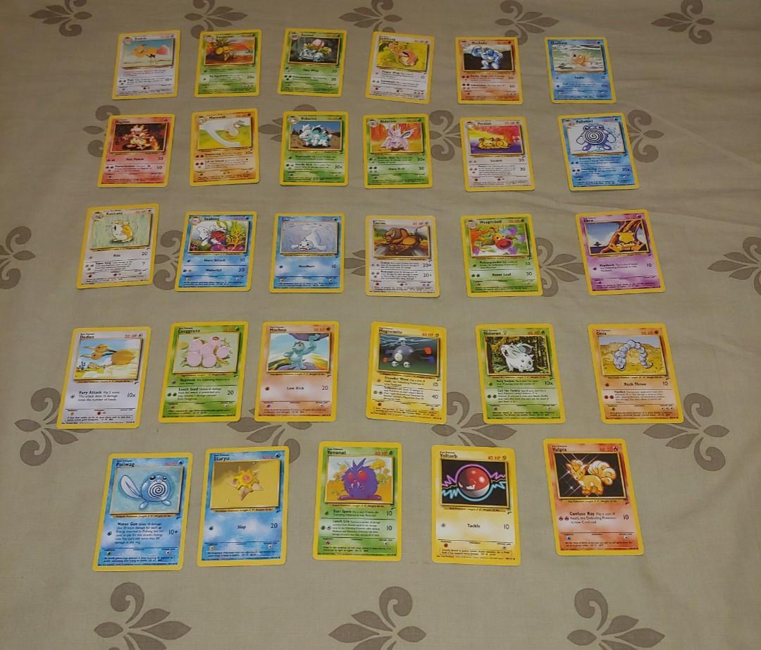 29 Pokemon Base Set 2 Cards