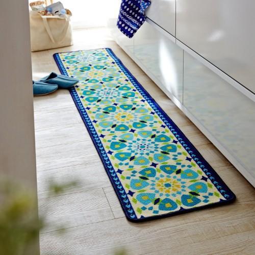 【白芷北歐雜貨🐦】🌻預購🌻摩洛哥風情瓷磚設計廚房墊