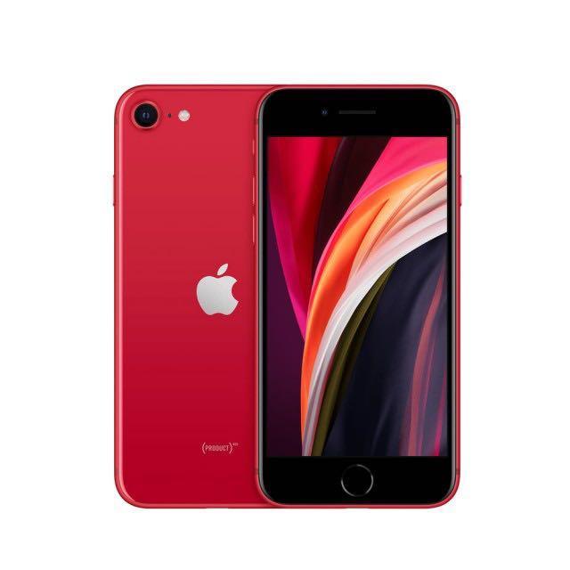 破盤價 iphone SE 2 128GB 紅色 極新 保固內 ~~