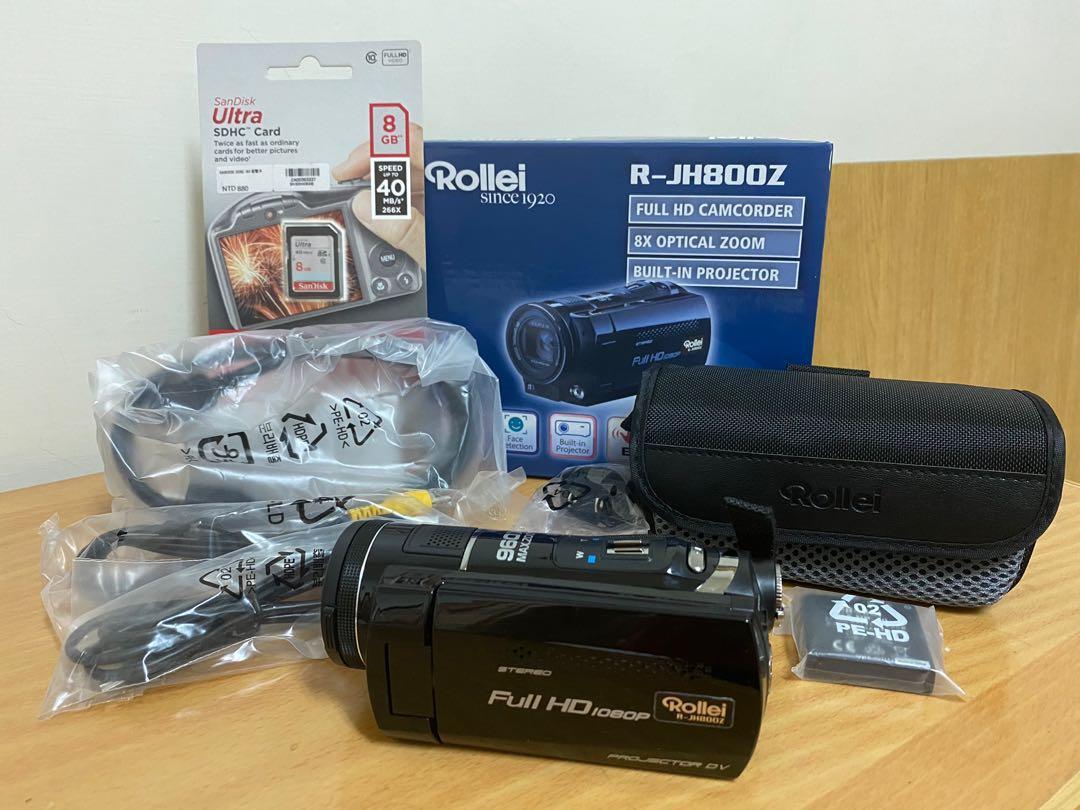 德國 Rollie R-JH800Z 高清 數位攝影機 照相機
