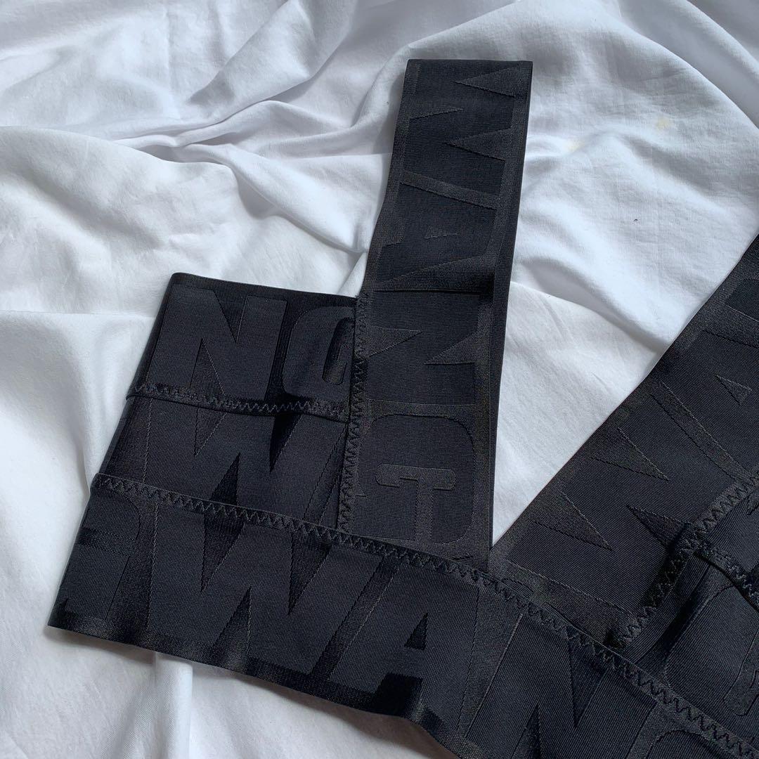 alexander wang x h&m bandage top