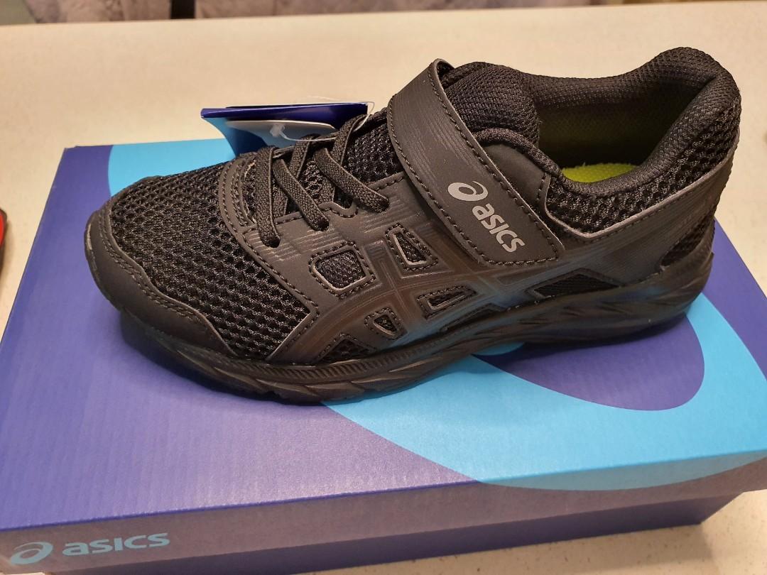 Asics School Shoes Black, Sports