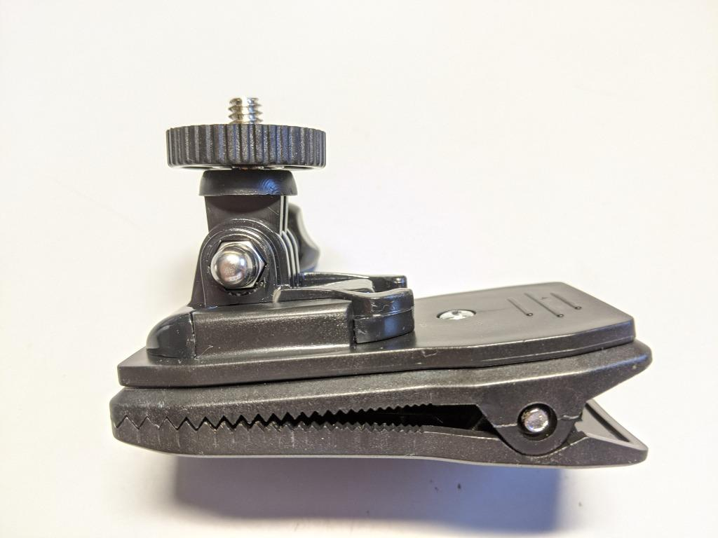Backpack Clip活動背包夾 大力夾 相機夾 閃光燈支架 適用Insta360 One R、SJCAM、DJI OSMO、GoPro相機