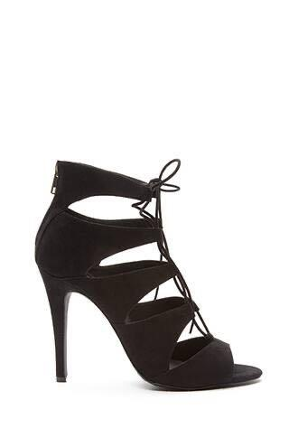 Brand New F21 Lace Up Heels