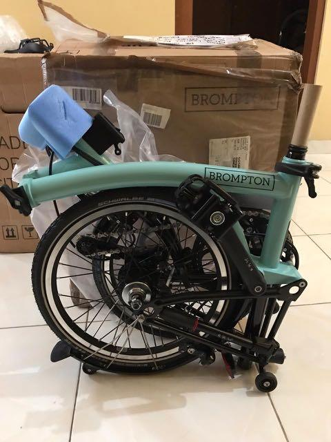 Brompton H6L Turkish Green 2020 Black Edition
