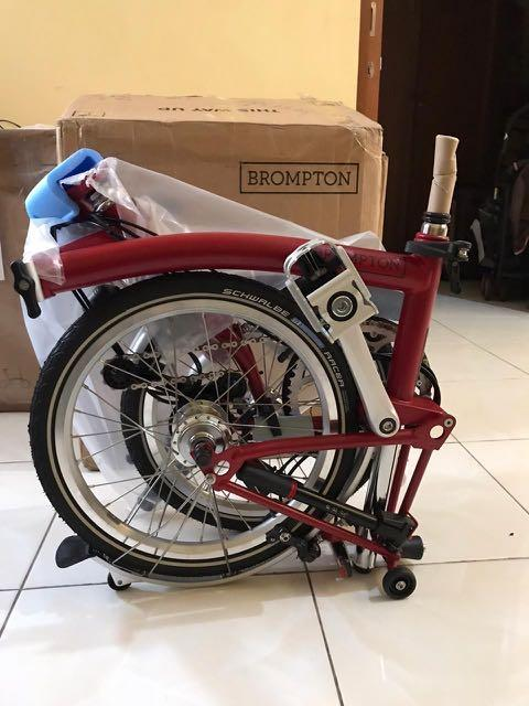 Brompton M6L House Red 2020