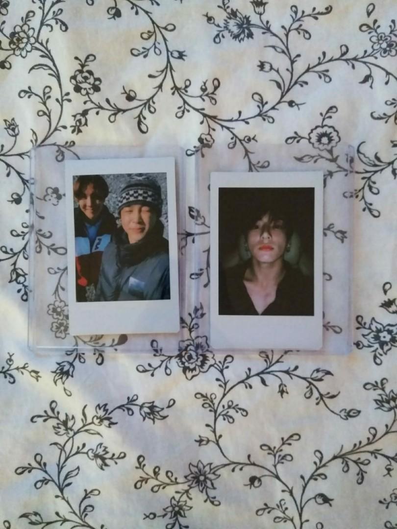 BTS JIMIN & JK Polaroids