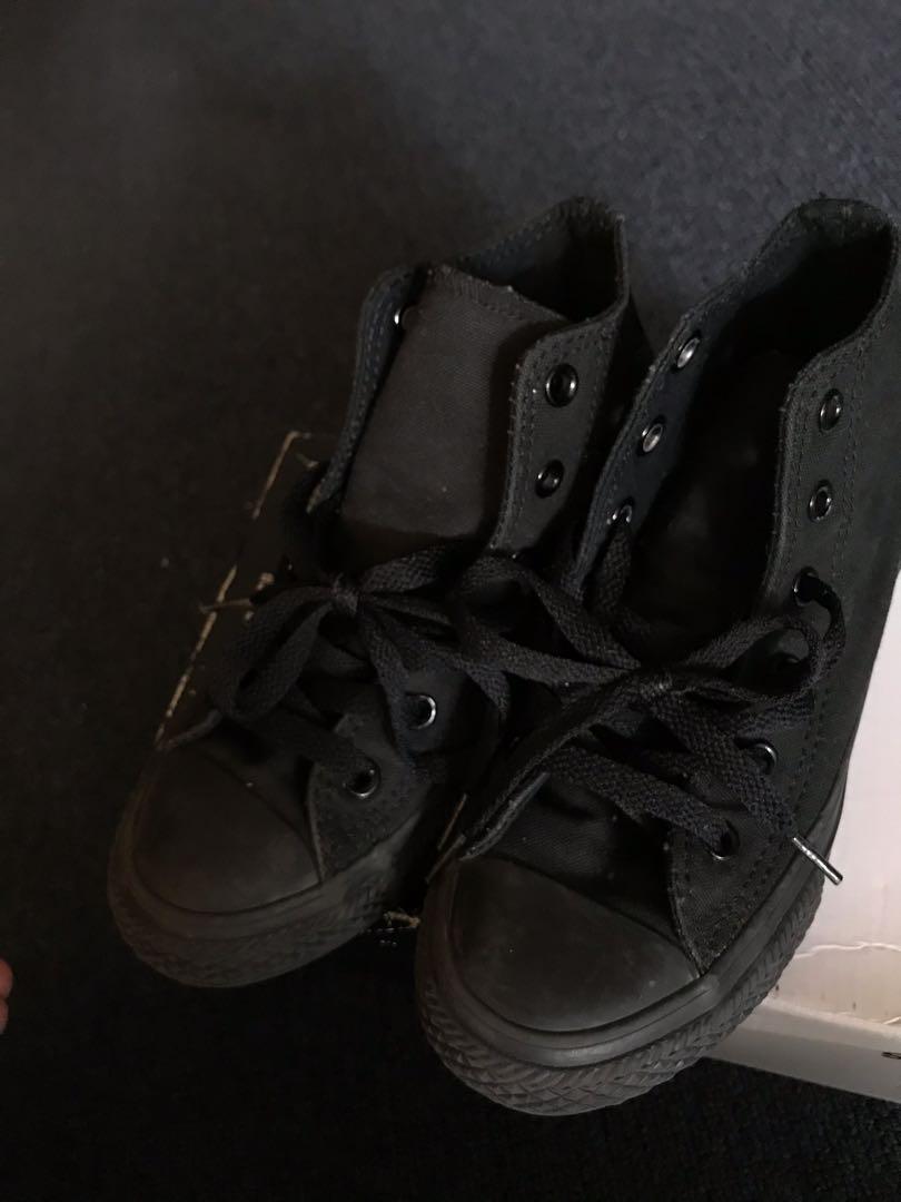 Converse Black KIDS