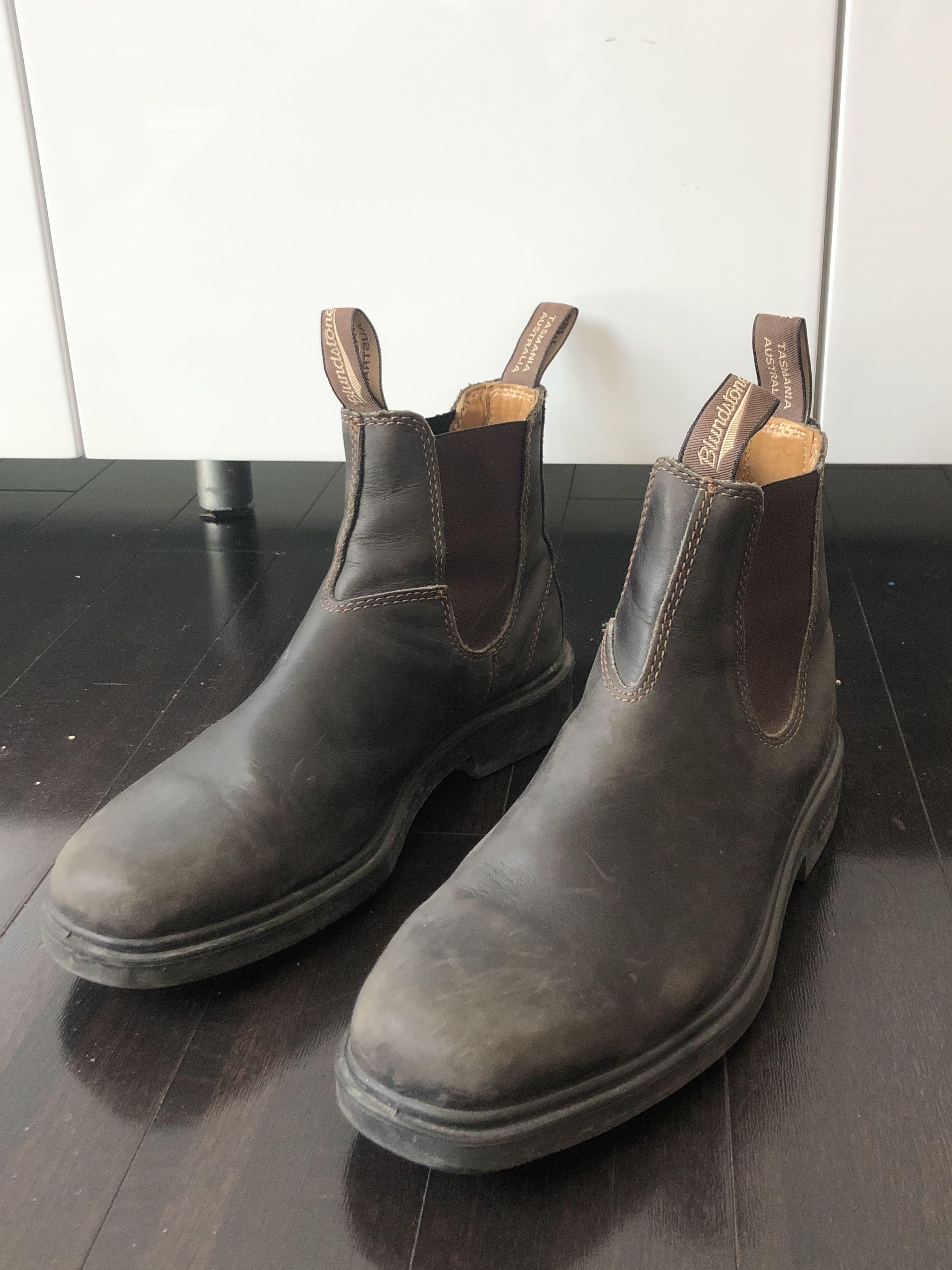 Dark Brown Blundstone (real leather)