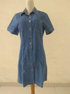 #promodressaja Denim Dress