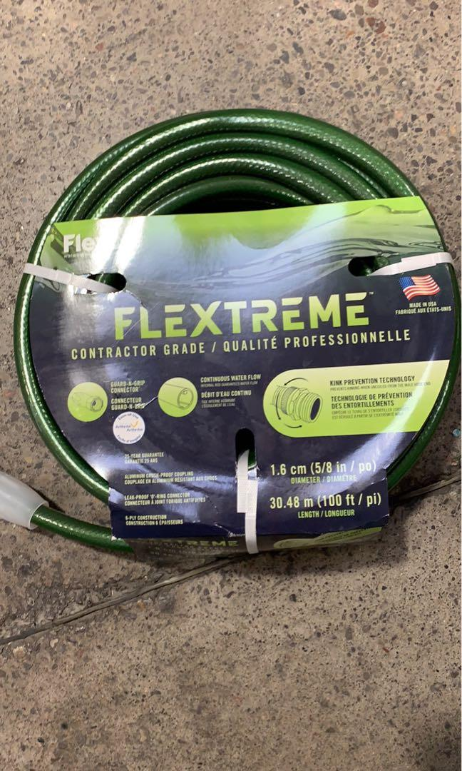 Flexon 5/8-Inch by 100-Foot Contractor Grade Garden Hose