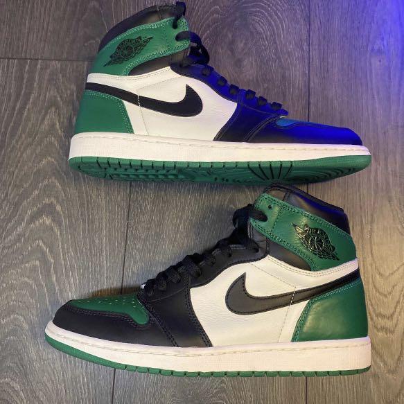 Jordan 1 high 'Pine Green'