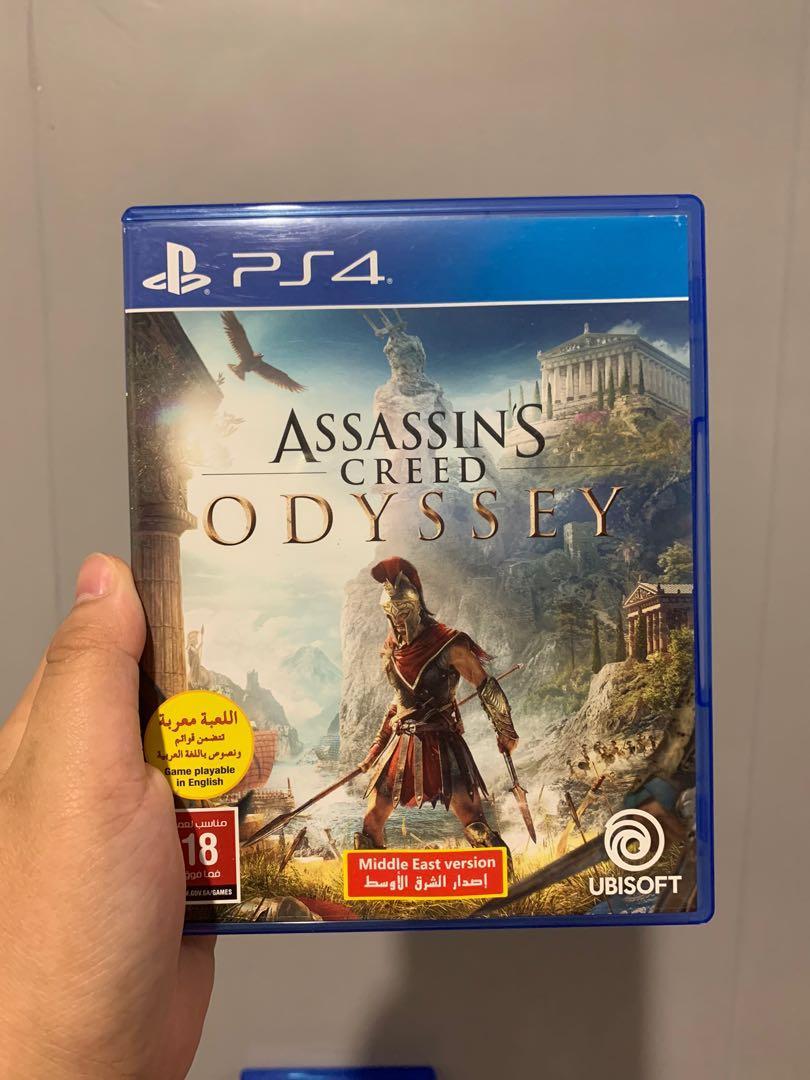 Kaset PS4 Assasin's Creed Odyssey