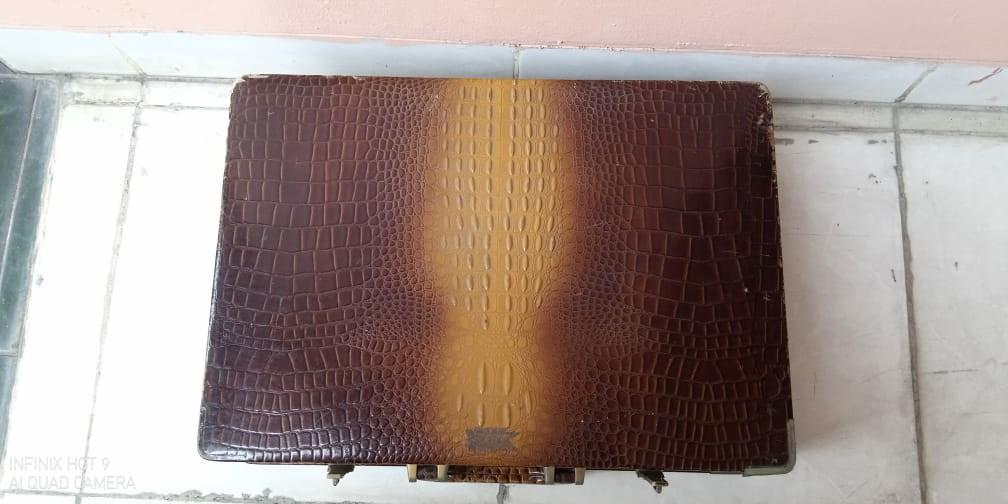 Koper kulit buaya vintage #barangnumpuk
