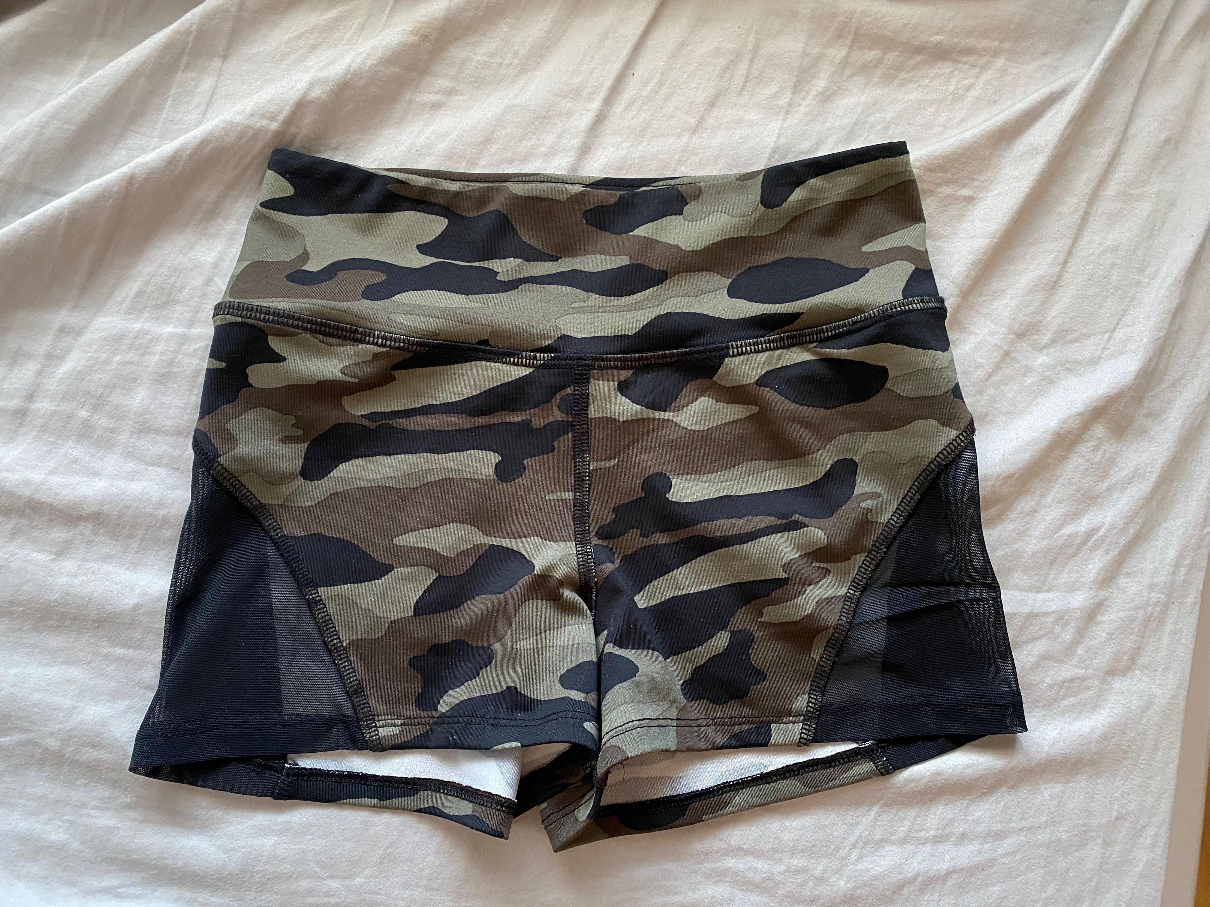 La Senza camo booty shorts (S)