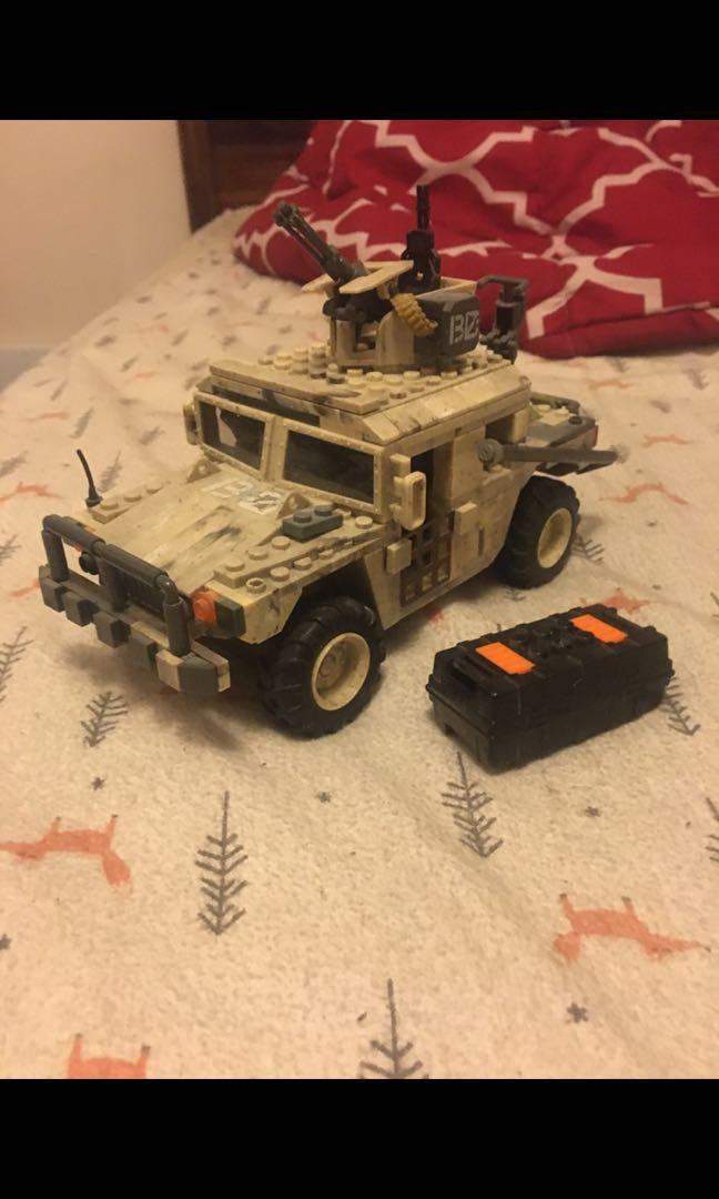 Lego Army Humvee
