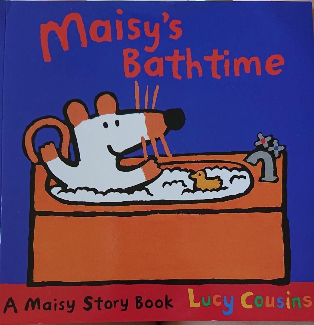 Maisy's Bath time英文童書