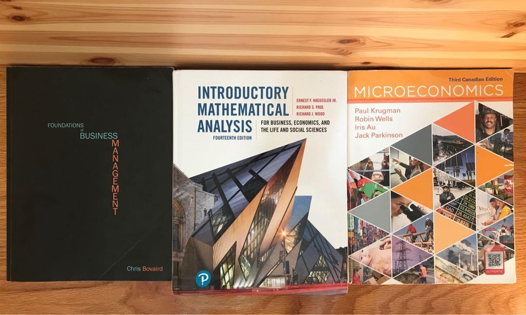 MATA32/33, MGEA02 and MGTA05 Textbook