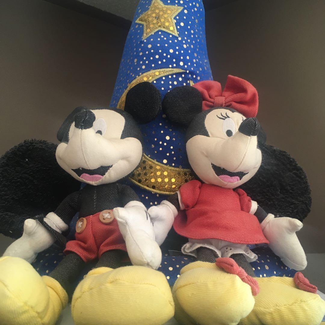 Mickey, Minnie and Disney World Hat - Plush