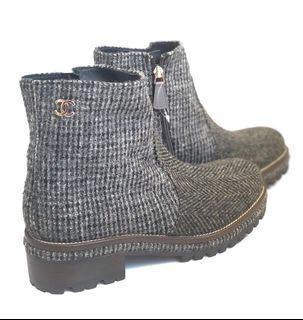 """NBU Chanel 👢 Boot Tweet #41 shoes only @8.75jt . Fbc"