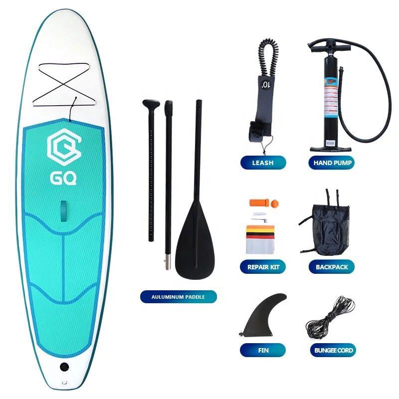 New in box sup inflatable paddle boards 290x76x10cm